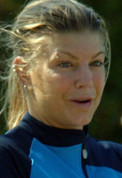 Fergie No Makeup