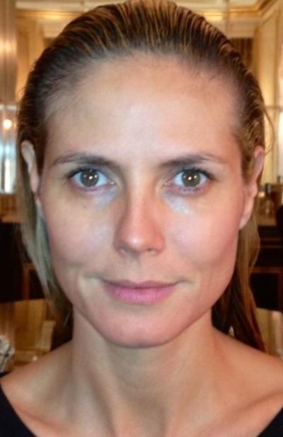 Heidi Klum Without Makeup Pictures