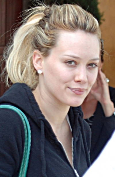 Hilary Duff Without Makeup
