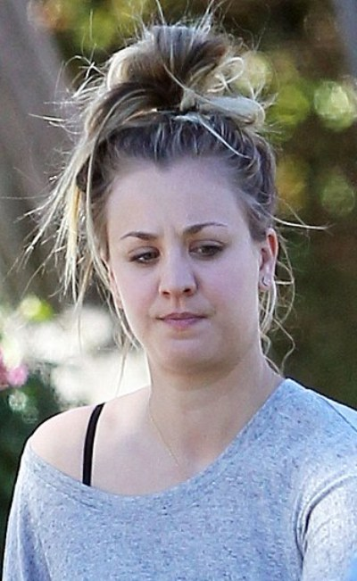 Kaley Cuoco Without Makeup