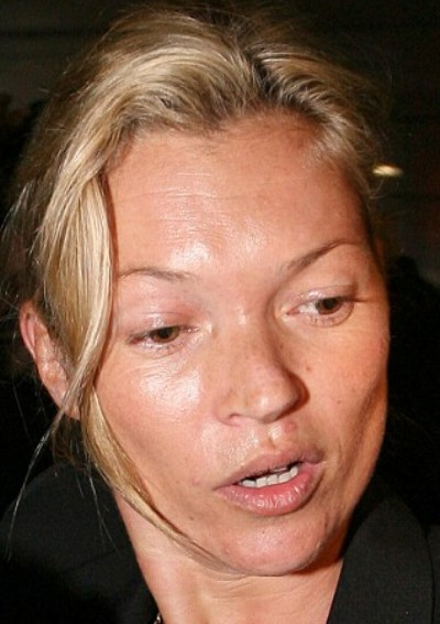 Kate Moss No Makeup