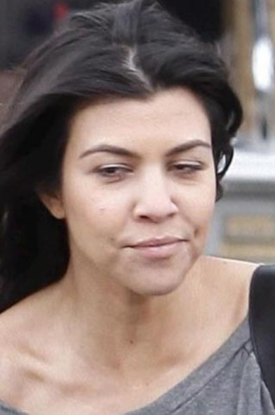Kourtney Kardashian No Makeup