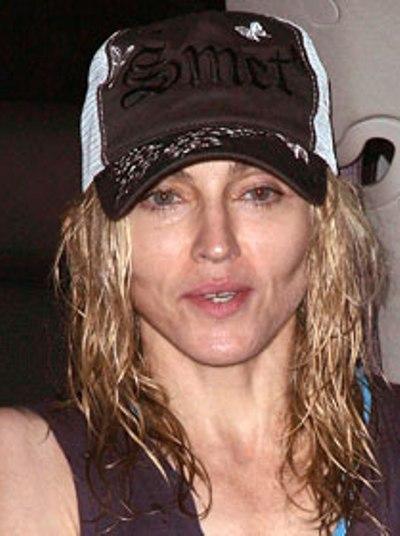 Madonna Without Makeup