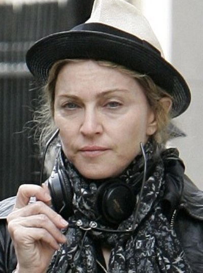Madonna Without Makeup Pictures