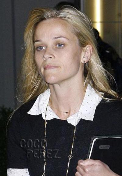Reese Witherspoon No Makeup Pictures