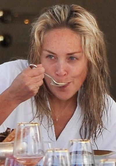 Sharon Stone Without Makeup Pictures