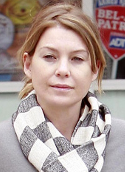 Ellen Pompeo Without Makeup