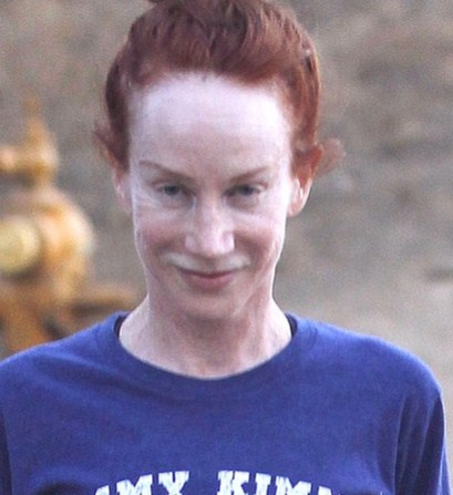 Kathy Griffin Without Makeup Picture