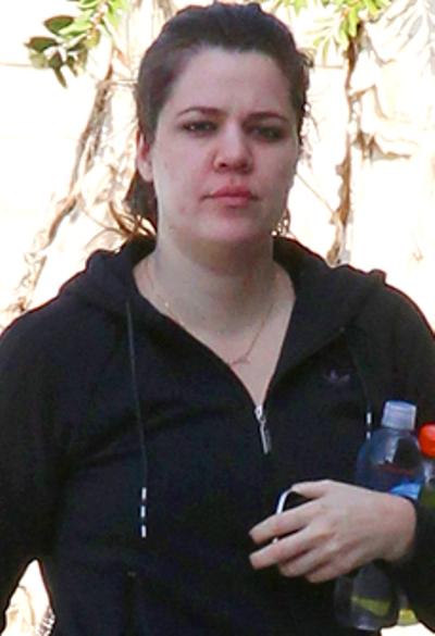 Khloe Kardashian No Makeup Pictures