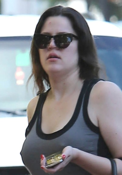 Khloe Kardashian Without Makeup