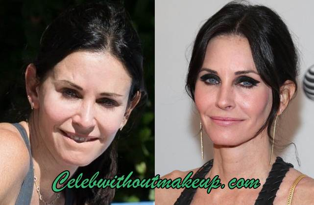 Courteney Cox No Makeup
