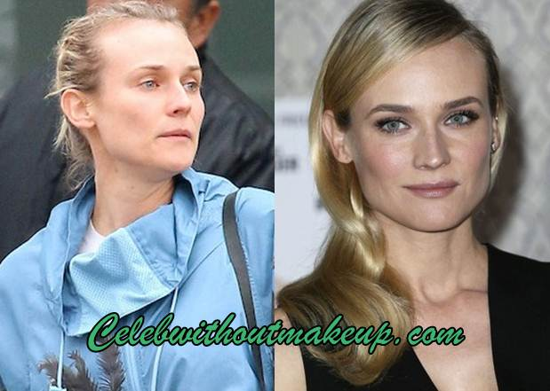 Diane Kruger Without Makeup