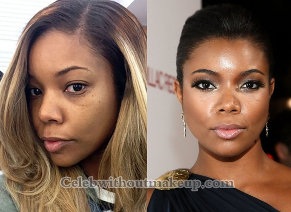 Gabrielle Union Without Makeup