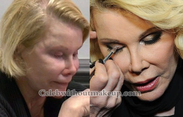 Joan Rivers Without Makeup