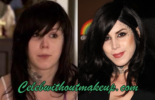 Kat Von D No Makeup On