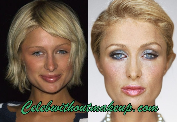 Paris Hilton No Makeup