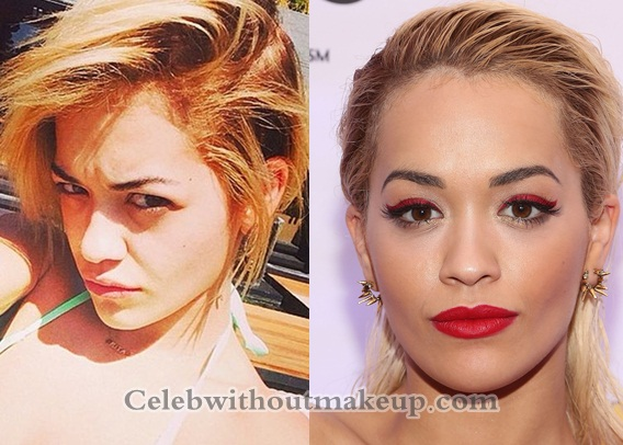 Rita Ora No Makeup; She Looks Unrecognizable