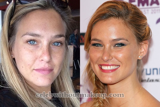 Bar Refaeli No Makeup On