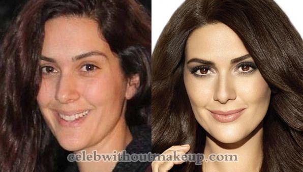 Bergüzar Korel Without Makeup