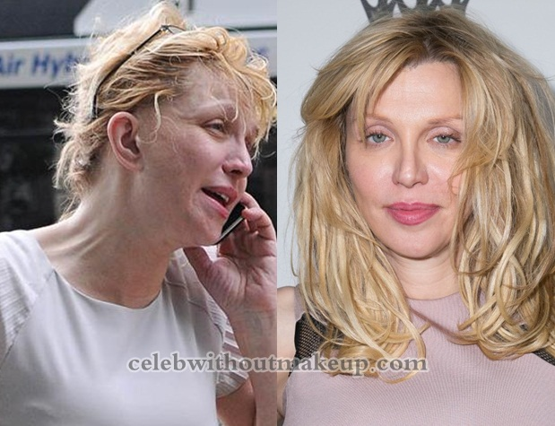 Courtney Love Without Makeup