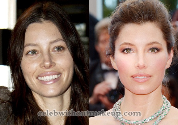 Jessica Biel Without Makeup