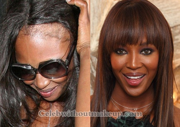 Naomi Campbell Without Makeup