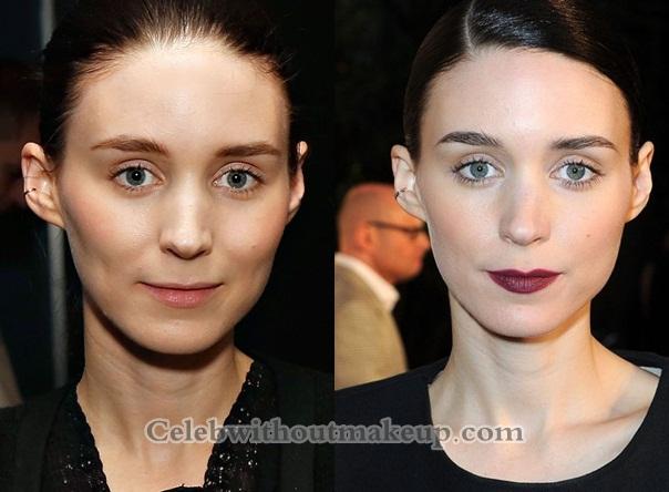 Rooney Mara No Makeup