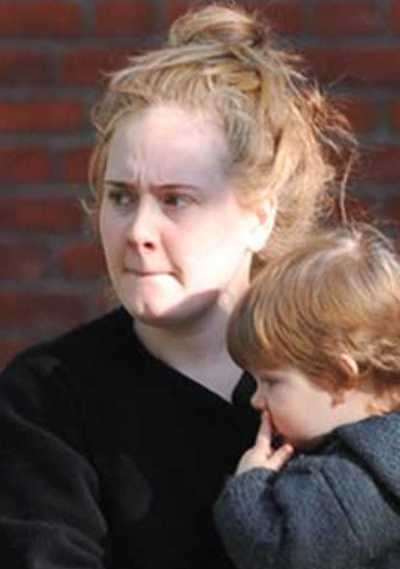 Adele Without Makeup