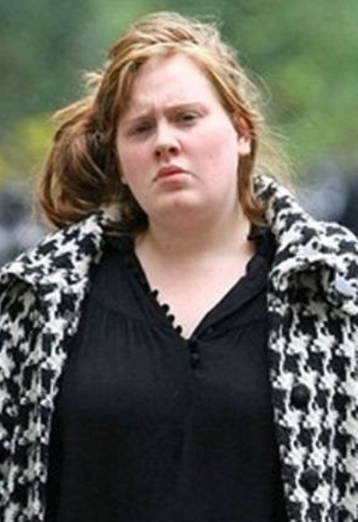 Adele Without Makeup Pictures