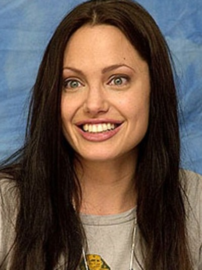 Young Celebrities With Wrinkles Angelina Jolie With An...