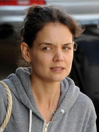Katie Holmes Without Makeup - Celeb Without Makeup