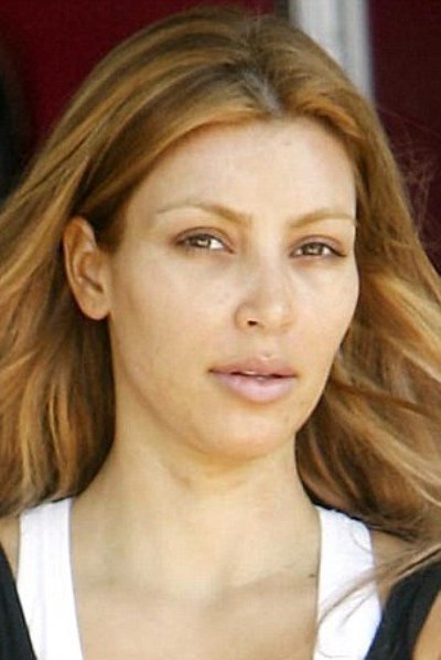Kim Kardashian No Makeup Kim Kardashian Without Makeup Picture Kim ...