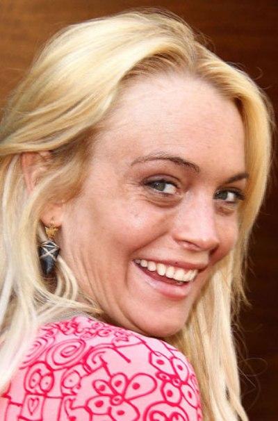 Lindsay Lohan Without Makeup - Celeb Without Makeup Lady Gaga