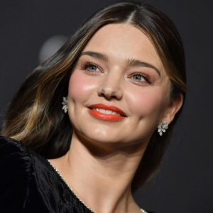 Miranda Kerr with Makeup
