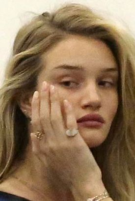 Rosie Huntington-Whiteley No Makeup