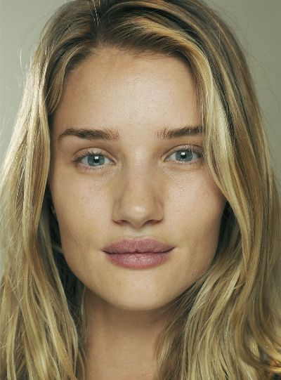 Rosie Huntington-Whiteley Without Makeup
