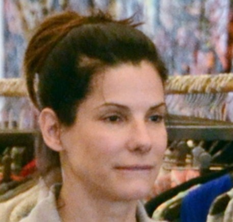 Sandra Bullock Without Makeup