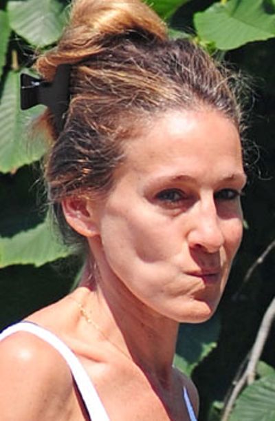 Sarah Jessica Parker No Makeup