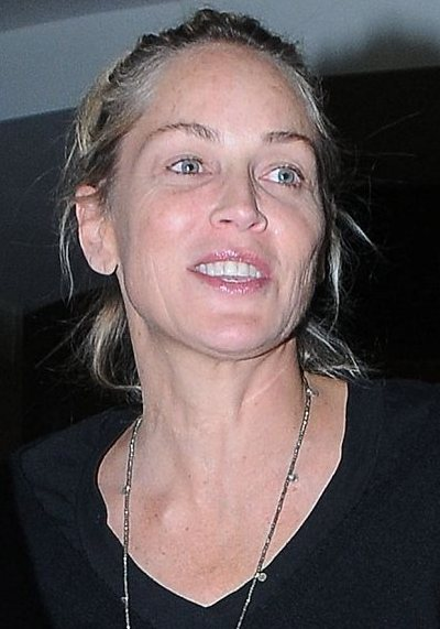 Sharon Stone No Makeup Sharon Stone Without M...