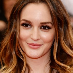 Leighton Meester with Makeup
