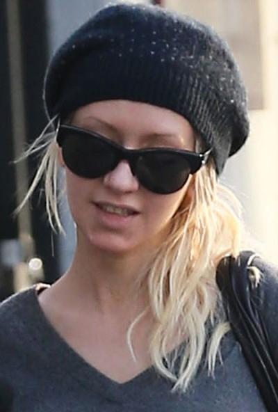 Christina Aguilera Without Makeup Photos