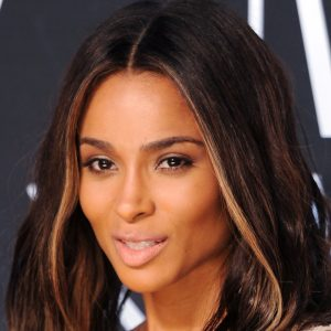Ciara with makeup