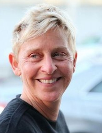 Ellen DeGeneres No Makeup Picture