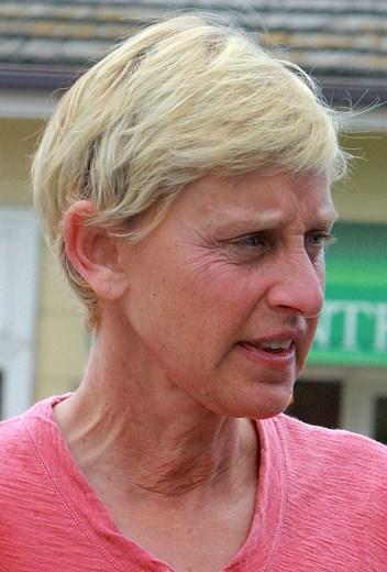 Ellen degeneres without makeup on