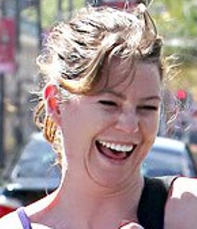 Ellen Pompeo No Makeup