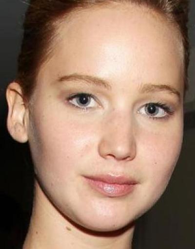Jennifer Lawrence No Makeup Pictures  Celeb Without Makeup - No Makeup