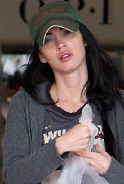 Megan Fox Without Makeup Pictures