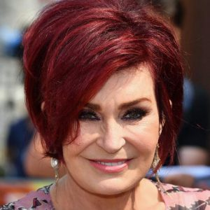 Sharon Osbourne with Makeup
