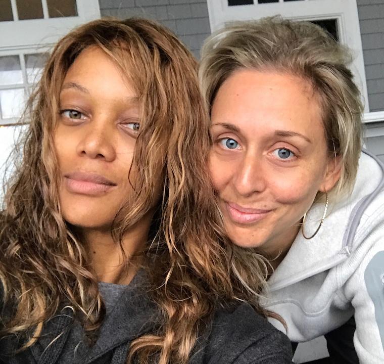 Tyra Banks with no makeup