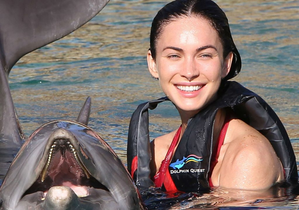 Megan Fox no makeup